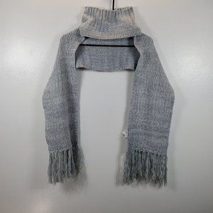 Adidas Women's Blue Scarf and Beanie Combo Sz OS